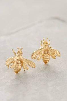 Abuzz Earrings #anthrofave #anthropologie  | Call A1 Bee Specialists in Bloomfield Hills, MI today at (248) 467-4849 to schedule an appointment if you've got a stinging insect problem around your house or place of business! You can also visit www.a1beespecialists.com!