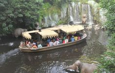 I am thankful for the seasonal storyline Just in time for the holidays, the Jungle Cruise will become the Jingle Cruise starting this November, with a seasonal storyline and some holiday jokes.