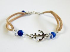 Anchors Aweigh Bracelet by CreativeToTheHeart on Etsy