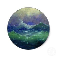 Arkhip Kuindzhi Seascape Sticker