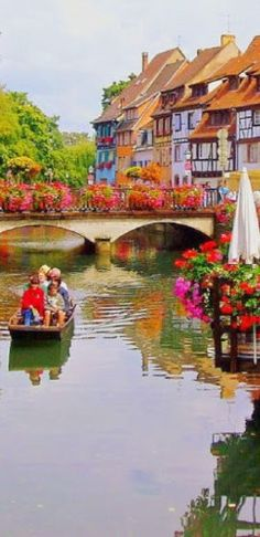 Colmar is romantic  city in France http://en.directrooms.com/hotels/country/2-8/