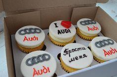 Cupcake for man, audi