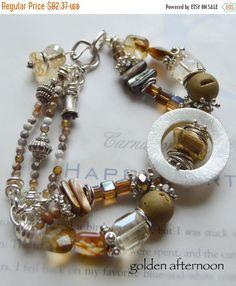ON SALE druzy bracelet citrine bracelet gold by soulfuledges