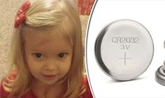 Girl, 2, dies after swallowing battery