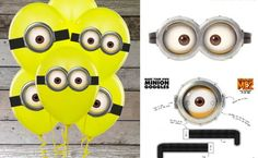 If you're planning a Despicable Me party.. These DIY Balloons could make a great addition to the party decorations. Check out these Free pri...