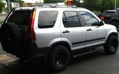2nd gen lifted Honda CRV