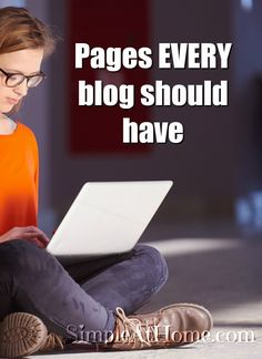 Looking to start your blog? Fix up one you already have? Every blog needs these 5 basic pages to thrive. Help your blog grow...