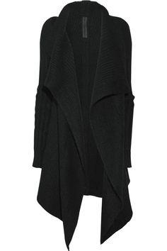 Rick Owens shawl/cardigan/thing.