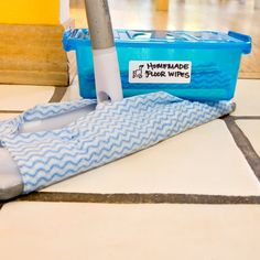 Homemade reutilizables Floor Wipes | PopSugar Smart Living