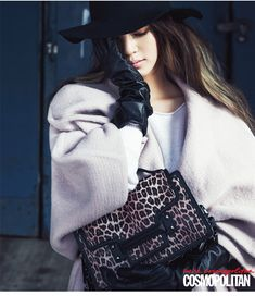 Han Ye Seul Is Chic For Paparazzi Shots For Cosmopolitan Korea's November 2014 Issue | Couch Kimchi
