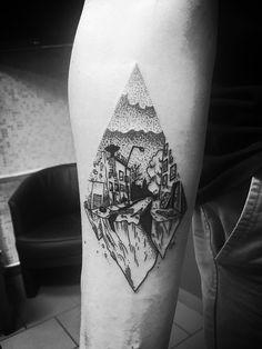 dotwork tattoo line blackwork padaone