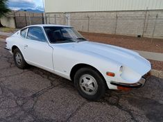 This 1972 Datsun 240Z looks like a good, complete car to restore as you go. It does run but likely needs more attention under the hood. #Datsun240Z, #Nissan