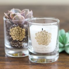 Boho Chic Desert Personalized Shot Glass Votive Holder favors  #BohoShotGlassVotiveHolders #BohoWeddingFavorIdeas #ShotGlassVotiveHolderBohoFavors
