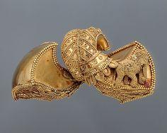 Pair of Royal Earrings ca. 1st century B.C. India