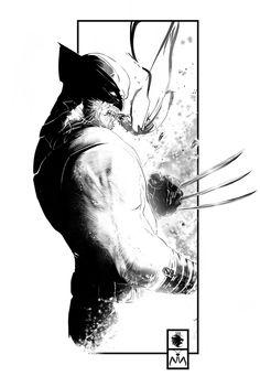 Wolverine by Leonardo Colapietro