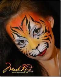 Resultado de imagen para maquillaje de tigre para hombre