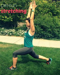 Four pre-run stretches to loosen up and align your stride | @Jasyoga