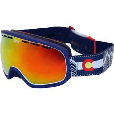 Spy's Fall 14/Winter 15 Colorado specific Marshall snow goggle just arrived.  Check it out for yourself!