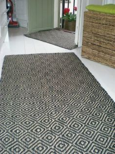 """Door mat """"Gåsöga"""" from Deco Formgivning"""