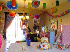 Rainbow room decorations
