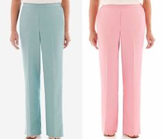 Alfred Dunner Womens Pull On Pants Picture Perfect Polyester size 10 12 18 NEW  16.99 https://www.ebay.com/itm/332424644993