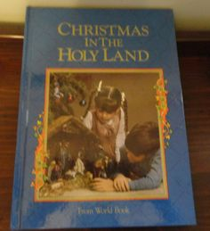 Christmas in The Holy Land From World Book Copyright 1987/Vintage Christmas Books/Vintage Books/ by CoolCoolVintage, $7.00