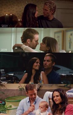 Paul Walker and Jordana Brewster <3 .. Love Forever In Fast and Furious ..<3 greentings Janney*