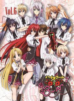 F/S High School DxD BorN Vol.6 Blu-ray KADOKAWA Media Factory Japanese Anime