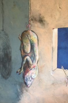Here be I-side © Breyten Breytenbach My Side, Bb, Politics, Dreams, Painting, Image, Painting Art, Paintings, Paint