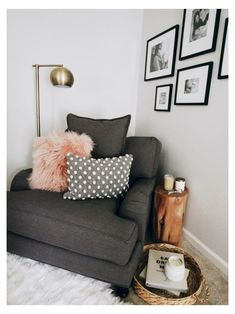 Cozy Studio Apartment Decoration Ideas On A Budget 35 Living Pequeños, Living Room On A Budget, Cozy Living Rooms, Living Room Furniture, Living Room Decor, Bedroom Decor, Small Living, Bedroom Nook, Bedroom Chair