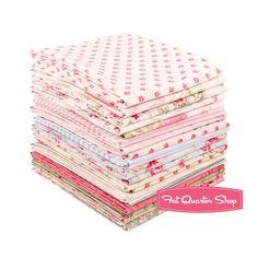 Emma's Garden Fat Quarter Bundle Skipping Stones Studio for Clothworks Fabrics - Fat Quarter Bundles | Fat Quarter Shop