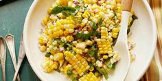 Ina's Fresh Corn Salad makes delicious use of summer's corn bounty.