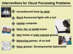 Visual Processing Disorder: Assistive Technology | Stumbles ...