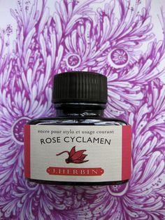 Rose Cyclamen. J. Herbin