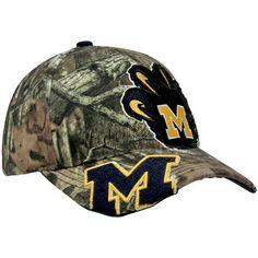 NCAA Zephyr Michigan Wolverines Double Barrel Adjustable Hat - Mossy Oak Camo Zepher Graf-X. $21.95