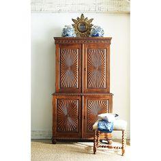 Sunburst armoire