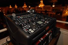 Most of our DJs utilize the Denon DN-HD2500 as the core unit of controlling music for our events.    We also use Denon Mixers, BBE Sonic Maximizers and Shure SM58 PGX Microphone systems!