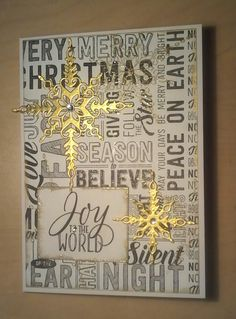 Merry Medley and Starlight Thinets Die, Stampin Up