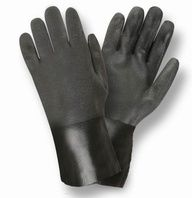 HandFortress Black PVC Dipped Glove$4