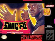 Shaq-Fu Super NES ~ Wow...S.O. Cashin' in on the fighting game craze 'o the 90's.