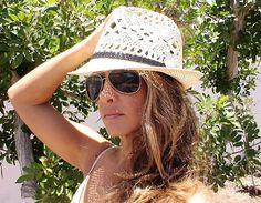 Vintage women Ivory Fedora Straw summer hat  by designsbykekugi, $36.00