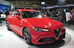 2017 Alfa Romeo Giorgio Grills