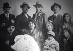 Django Reinhardt's family 1927