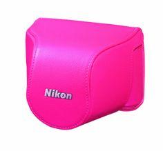 Nikon CB-N2000SE RD Red | Leather Body Case Set for Nikon 1 J1 (Japanese Import)