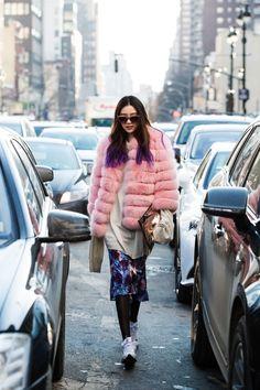 Streetstyle: Irene kim in New York shot by Park Ji Min