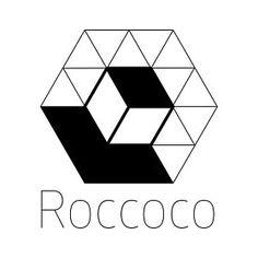 Roccoco Studio ze sklepu RoccocoStudio na Etsy Cube, Studio, Logos, Etsy, Author, Metal Desk Legs, Hairpin, Logo, Studios