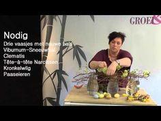 Paasstuk met kronkelwilg voor op tafel door Groei & Bloei - YouTube