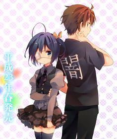 Rikka and Yuuta Koi, Rikka And Yuuta, Romance, Vocaloid, Zero No Tsukaima, Aqua Eyes, Gekkan Shoujo Nozaki Kun, Kyoto Animation, Ghibli Movies