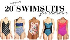 20 one piece swimsuits for summer