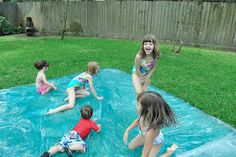 Water Blob: 25 DIY Summer Activities For Kids | Felicity Huffman's What The Flicka? #crafts #ideas